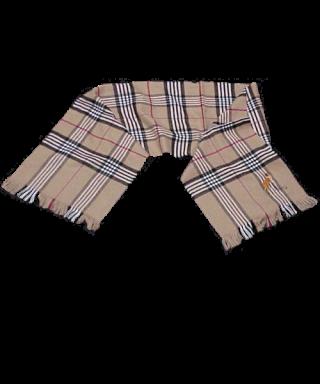 Bufanda bordada cuadro ancho Pastor Escocés