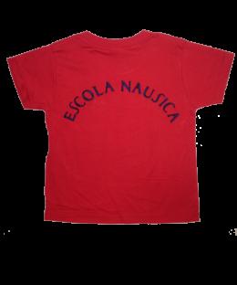 Camiseta manga corta educación física Escola Nausica Roja