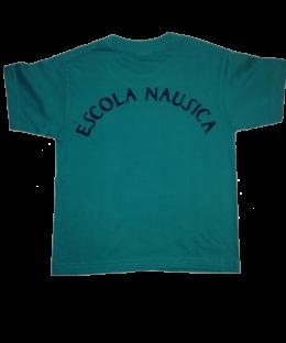 Camiseta manga corta escola Nausica color verde