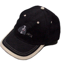 gorra-azul-bordado-cocker-negro